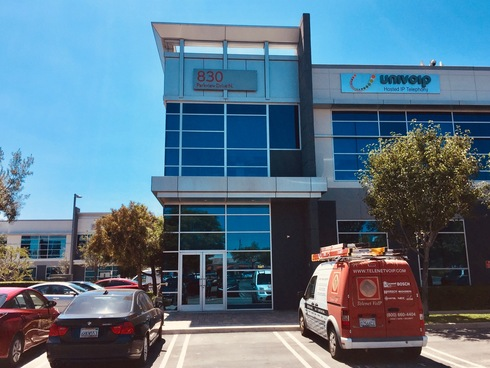 Exterior Of UniVoIP's Offices in El...